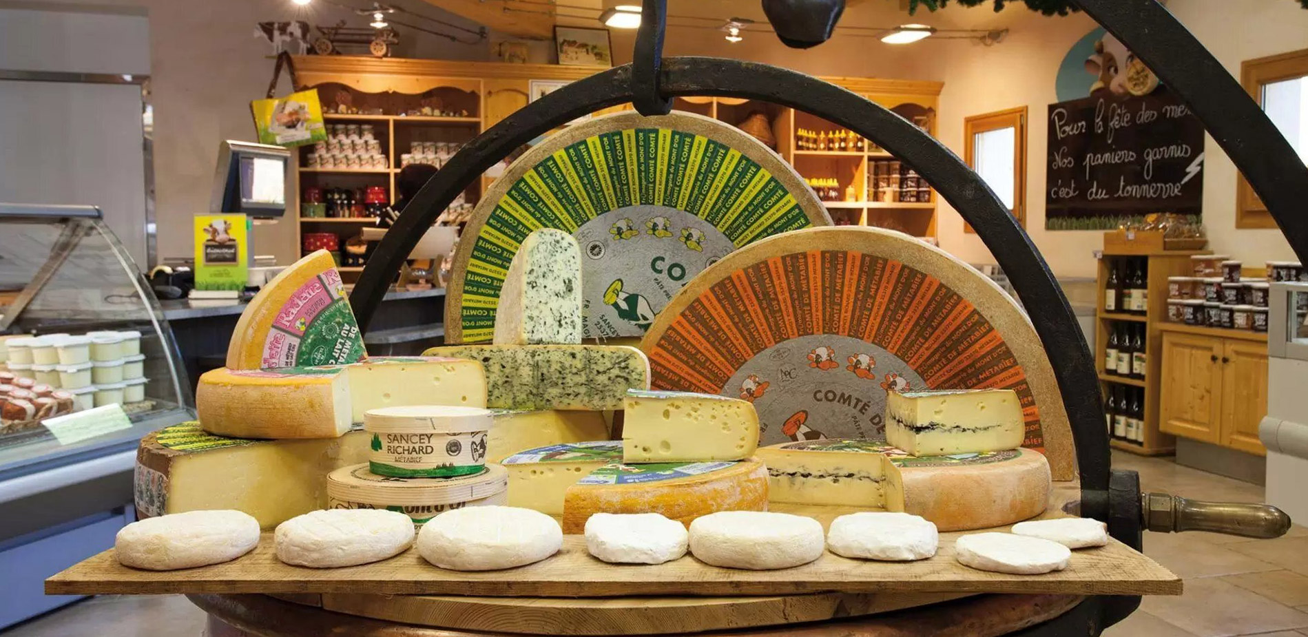 Commander du fromage et des produits régionaux en ligne